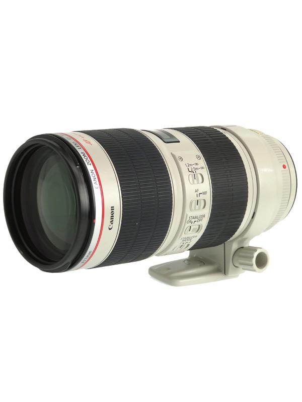 【Canon】キヤノン『EF70-200mm F2.8L IS II USM』EF70-200LIS2 望遠ズーム 手ブレ補正 一眼レフカメラ用レンズ 1週間保証【中古】b03e/h11AB