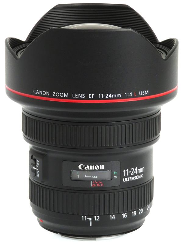 【Canon】キヤノン『EF11-24mm F4L USM』EF11-24L 超広角ズーム 研削非球面 一眼レフカメラ用レンズ 1週間保証【中古】b03e/h11AB