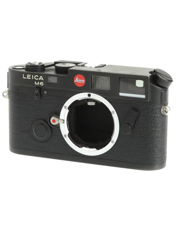 【Leica】ライカ『M6』ブラック 35mmフィルム レンジファインダーカメラ 1週間保証【中古】b03e/h20B