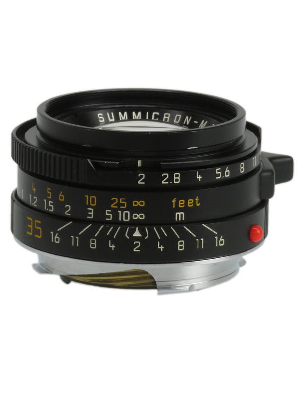 【Leica】ライカ『ズミクロンM35mmF2 第4世代』11952 レンジファインダーカメラ用レンズ 1週間保証【中古】b03e/h20AB