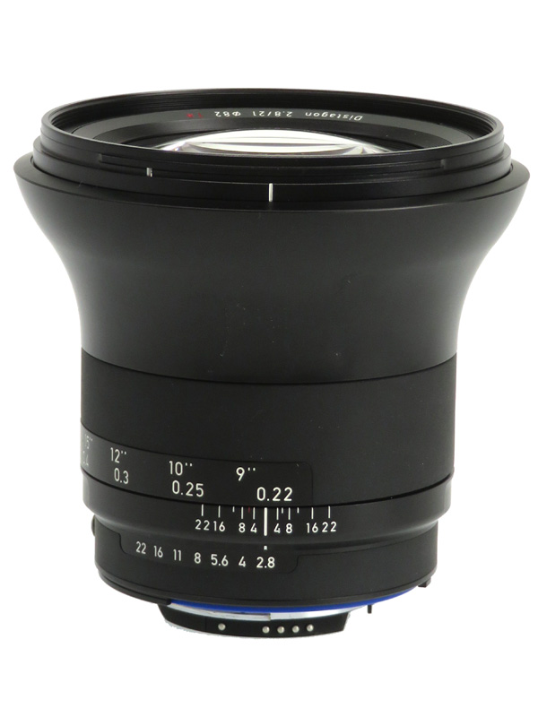 【Carl Zeiss】カールツァイス『ZEISS Milvus 2.8/21 ZF.2』ニコンFマウント 21mmF2.8 マニュアルフォーカス 一眼レフカメラ用レンズ 1週間保証【中古】b03e/h20AB