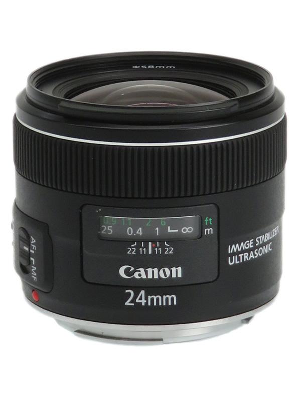 【Canon】キヤノン『EF24mm F2.8 IS USM』EF2428IS 広角 単焦点 リアフォーカス 一眼レフカメラ用レンズ 1週間保証【中古】b03e/h07AB