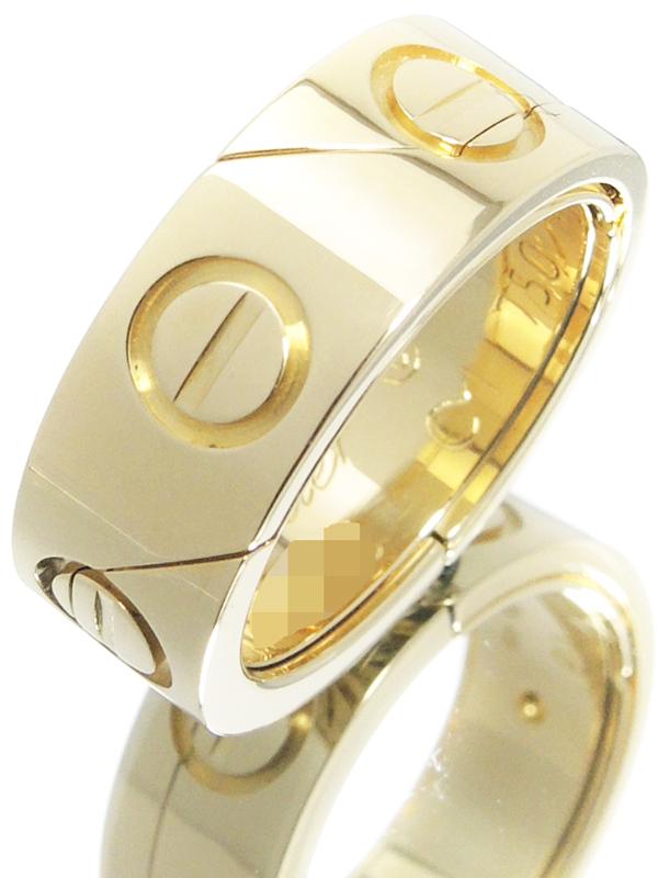 【Cartier】【ペンダントトップ】【2Way】カルティエ『K18YG アストロ ラブリング』9号 1週間保証【中古】b02j/h03A
