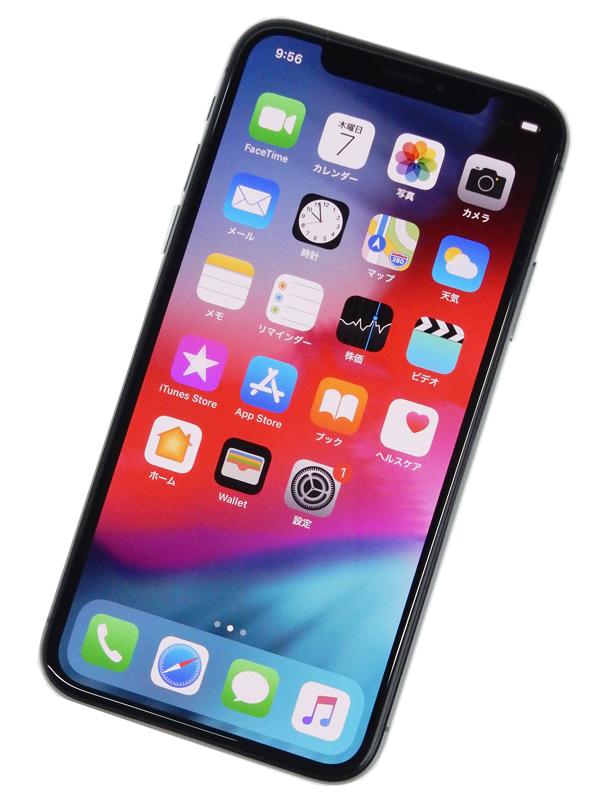 【Apple】【Softbankのみ】アップル『iPhone X(テン) 64GB Softbank』MQAX2J/A スマートフォン 1週間保証【中古】b03e/h08A