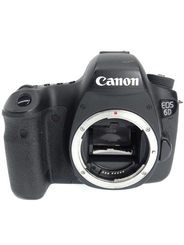 【Canon】キヤノン『EOS 6D ボディ』EOS6DBODY 2020万画素 フルサイズ 無線LAN SDXC デジタル一眼レフカメラ 1週間保証【中古】b05e/h12B