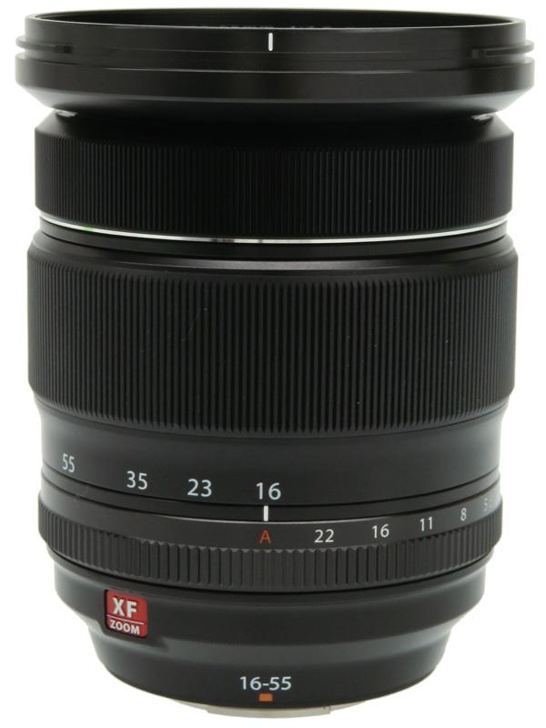 【FUJIFILM】富士フイルム『FUJINON XF16-55mmF2.8 R LM WR』24-84mm相当 標準ズーム ミラーレス一眼カメラ用レンズ 1週間保証【中古】b02e/h03AB