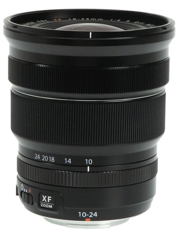 【FUJIFILM】富士フイルム『FUJINON XF10-24mmF4 R OIS』15-36mm相当 広角ズーム ミラーレス一眼カメラ用レンズ 1週間保証【中古】b02e/h03AB
