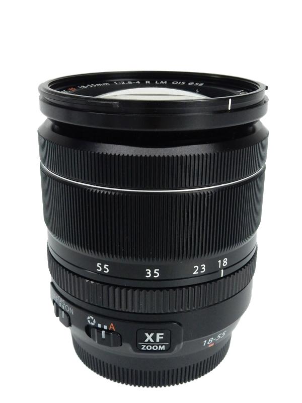 【FUJIFILM】富士フイルム『FUJINON XF18-55mmF2.8-4 R LM OIS』27-84mm相当 標準ズーム ミラーレス一眼カメラ用レンズ 1週間保証【中古】b02e/h03AB