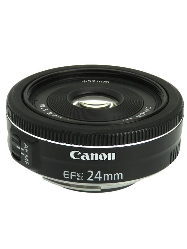【Canon】キヤノン『EF-S24mm F2.8 STM』EF-S2428STM 38mm相当 デジタル一眼レフカメラ用レンズ 1週間保証【中古】b06e/h17AB
