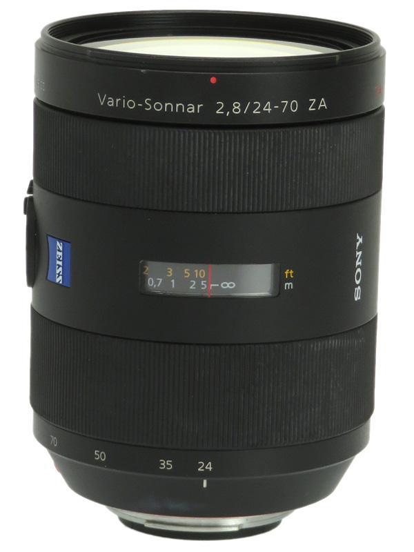 【SONY】ソニー『Vario-Sonnar T* 24-70mm F2.8 ZA SSM』SAL2470Z Aマウント フルサイズ デジタル一眼カメラ用レンズ 1週間保証【中古】b06e/h17AB