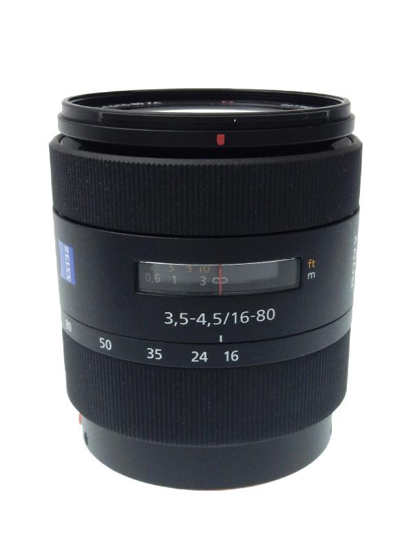 【SONY】ソニー『Vario-Sonnar T* DT 16-80mm F3.5-4.5 ZA』SAL1680Z Aマウント デジタル一眼カメラ用レンズ 1週間保証【中古】b02e/h03AB