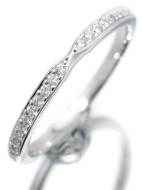 【Foulason】【White rose】【仕上済】フレゾン『PT950 ホワイトローズ リング ダイヤモンド』8.5号 1週間保証【中古】b05j/h10SA