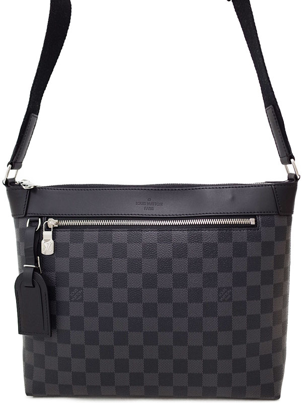 7af34a2f2607 【LOUIS VUITTON】ルイヴィトン『ダミエ グラフィット ミックPM NM』N40003 メンズ ...
