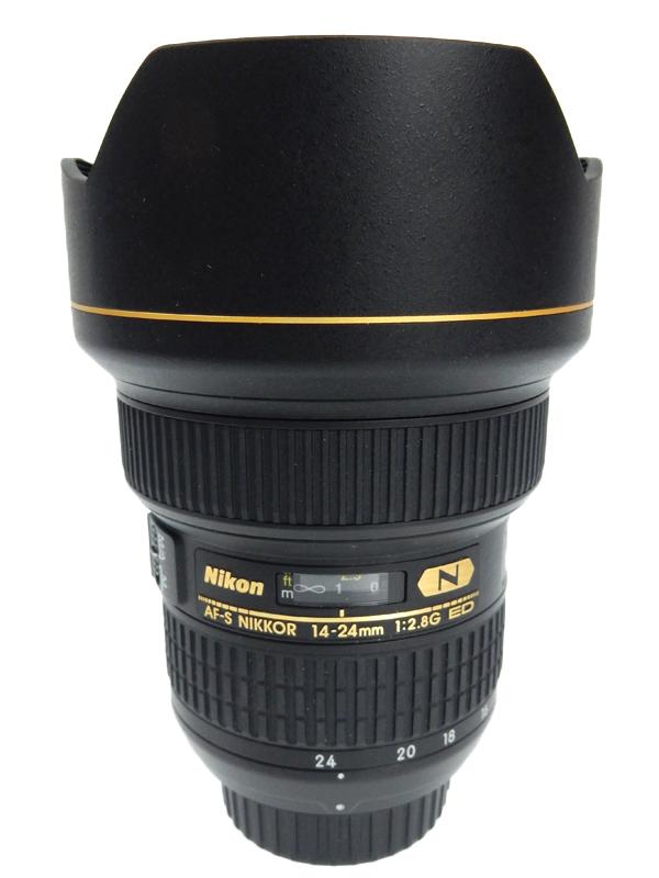 【Nikon】ニコン『AF-S NIKKOR 14-24mm f/2.8G ED』AFS14-24G Fマウント レンズフード一体型 FXフォーマット デジタル一眼レフカメラ用レンズ 1週間保証【中古】b03e/h20AB