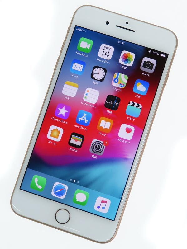 【Apple】【auのみ】アップル『iPhone 8 Plus 64GB au』MQ9M2J/A スマートフォン 1週間保証【中古】b03e/h06AB