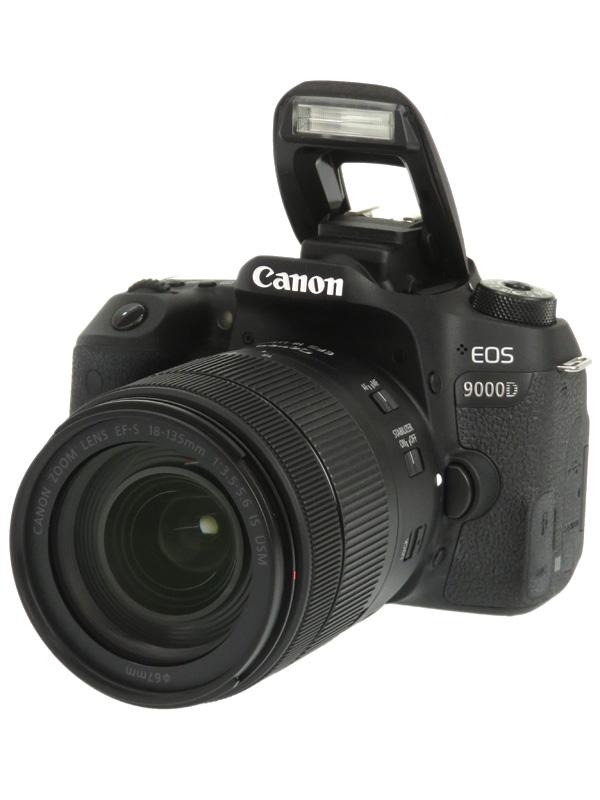 【Canon】キヤノン『EOS 9000D EF-S18-135 IS USMレンズキット』2420万画素 EF-S デジタル一眼レフカメラ 1週間保証【中古】b03e/h15AB