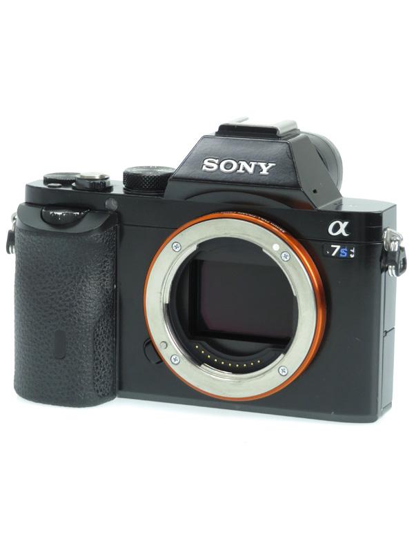 【SONY】ソニー『α7Sボディ』ILCE-7S 1220万画素 フルサイズ Eマウント 4K撮影対応 デジタル一眼カメラ 1週間保証【中古】b05e/h10B