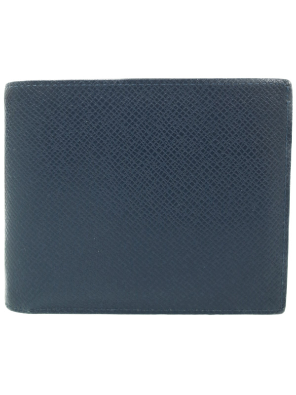 【LOUIS VUITTON】ルイヴィトン『タイガ ポルトフォイユ アメリゴ』M42101 メンズ 二つ折り短財布 1週間保証【中古】b05b/h10AB