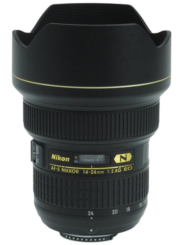 【Nikon】ニコン『AF-S NIKKOR 14-24mm f/2.8G ED』FXフォーマット デジタル一眼レフカメラ用レンズ 1週間保証【中古】b05e/h12A