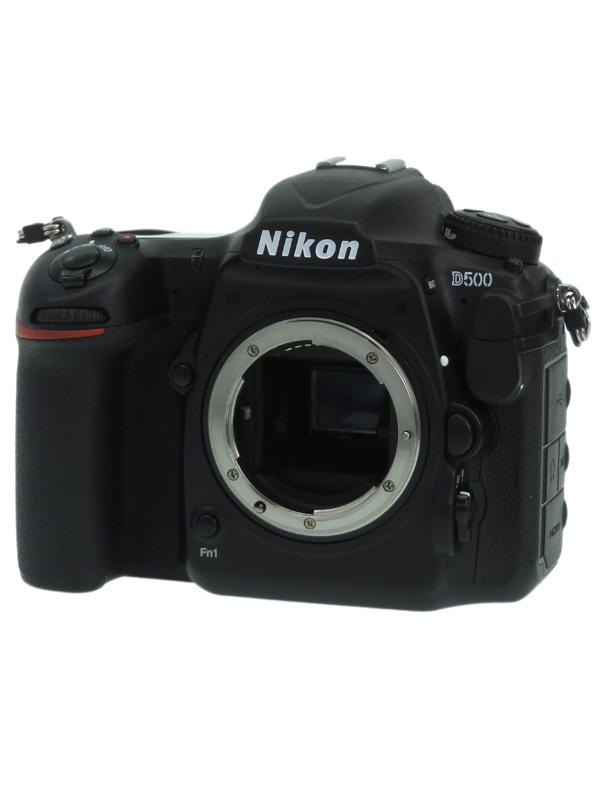 【Nikon】ニコン『D500 ボディ』2088万画素 DXフォーマット ISO51200 4K動画 Wi-Fi デジタル一眼レフカメラ 1週間保証【中古】b05e/h12AB