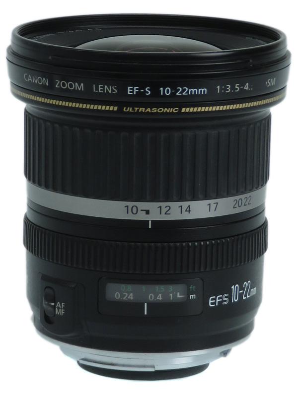 【Canon】キヤノン『EF-S10-22mm F3.5-4.5 USM』EF-S10-22U 16-35mm相当 デジタル一眼レフカメラ用レンズ 1週間保証【中古】b02e/h12B