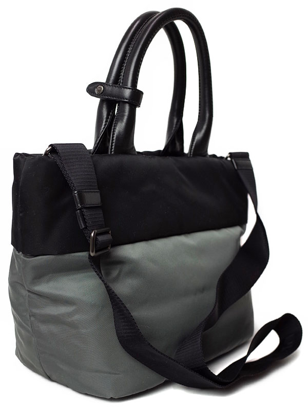【PRADA】【バイカラー】プラダ『2WAYハンドバッグ』レディース 2WAYバッグ 1週間保証b05b/h11A