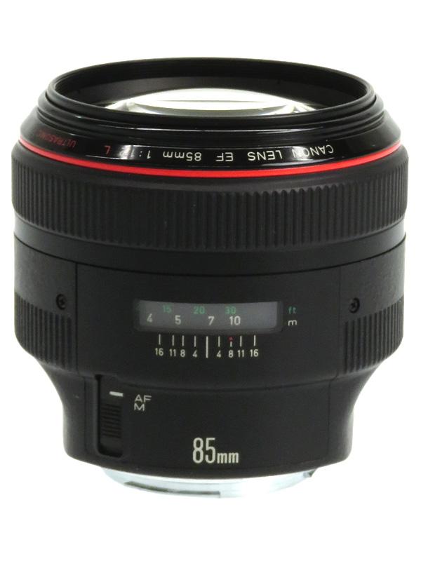 【Canon】キヤノン『EF85mm F1.2L USM』EF8512L ポートレート 単焦点 研削非球面 一眼レフカメラ用レンズ 1週間保証【中古】b03e/h11B