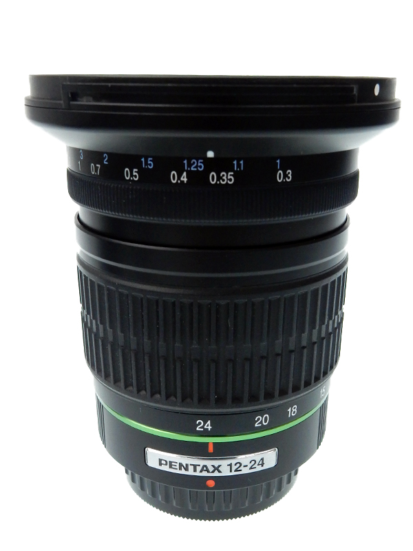 【PENTAX】ペンタックス『smc PENTAX-DA 12-24mmF4 ED AL[IF]』18.5-37mm相当 デジタル一眼レフカメラ用レンズ 1週間保証【中古】b02e/h03AB