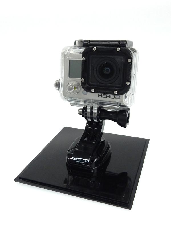 【GoPro】ゴープロ『HERO3 Silver Edition』CHDHX-301-JP シルバー アクションカメラ フルハイビジョン ウェアラブルカメラ 1週間保証【中古】b03e/h07BC
