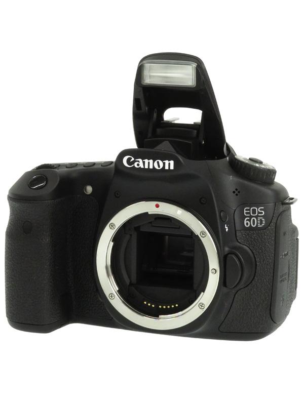 【Canon】キヤノン『EOS 60Dボディー』EOS60DBODY APS-C 1800万画素 フルHD動画 デジタル一眼レフカメラ 1週間保証【中古】b03e/h07AB
