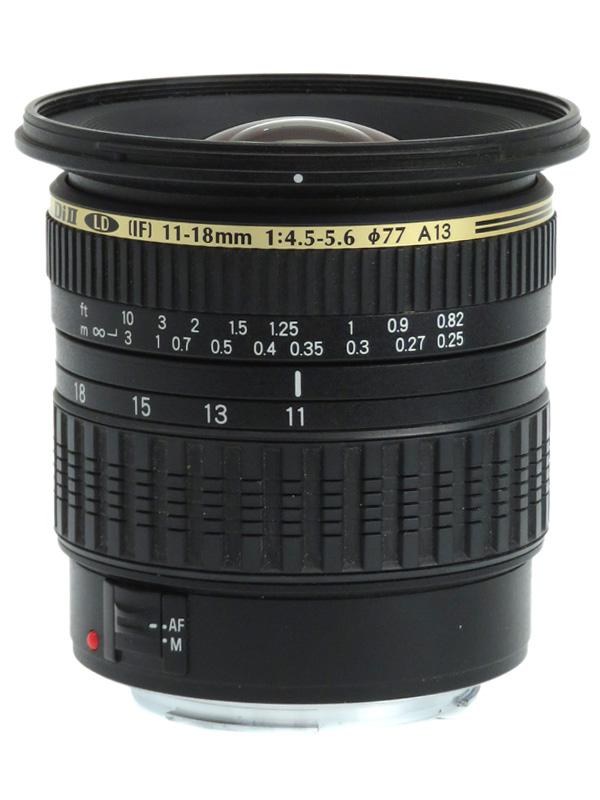 【TAMRON】タムロン『SP AF11-18mm F/4.5-5.6 Di II LD Aspherical [IF]』A13E キヤノンEF-S 17-28mm相当 デジタル一眼レフカメラ用レンズ 1週間保証【中古】b03e/h20B