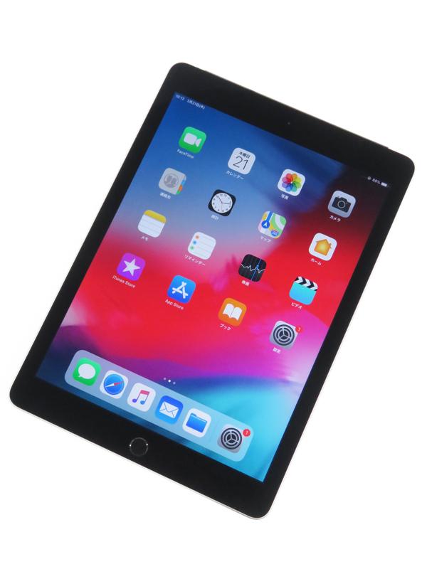 【Apple】【auのみ】アップル『iPad Air 2 Wi-Fi + Cellular 64GB au』MGHX2J/A タブレット 1週間保証【中古】b05e/h12B