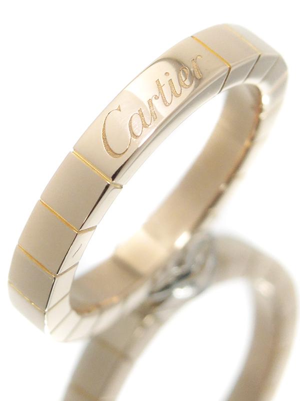 【Cartier】カルティエ『K18PG ラニエール リング』10号 1週間保証【中古】b06j/h17A