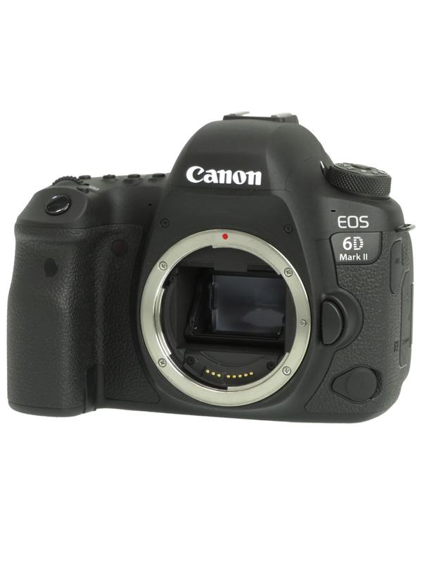 【Canon】キヤノン『EOS 6D Mark II ボディー』2620万画素 フルサイズ フルHD動画 SDXC デジタル一眼レフカメラ 1週間保証【中古】b02e/h09B