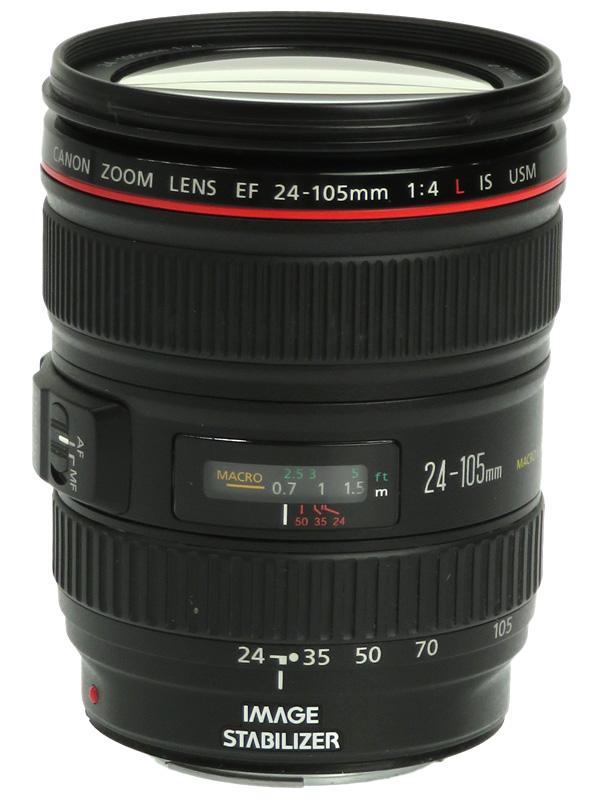 【Canon】キヤノン『EF24-105mm F4L IS USM』EF24-10540LIS 非球面 標準ズーム 一眼レフカメラ用レンズ 1週間保証【中古】b02e/h09AB