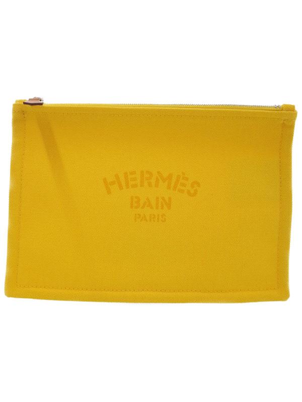 【HERMES】エルメス『フラット ヨッティング PM』H102499M04 レディース ポーチ 1週間保証【中古】b02b/h19S