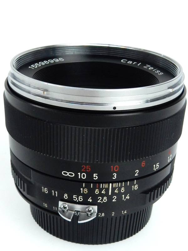 【Carl Zeiss】カールツァイス『ZEISS PLANAR T*50F1.4 ZF (ニコンAis)』ニコンF レンズ 1週間保証【中古】b02e/h13AB