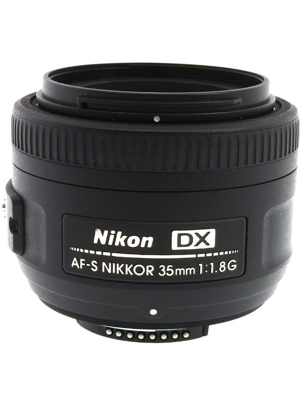 【Nikon】ニコン『AF-S DX NIKKOR 35mm f/1.8G』52.5mm相当 デジタル一眼レフカメラ用レンズ 1週間保証【中古】b06e/h17AB