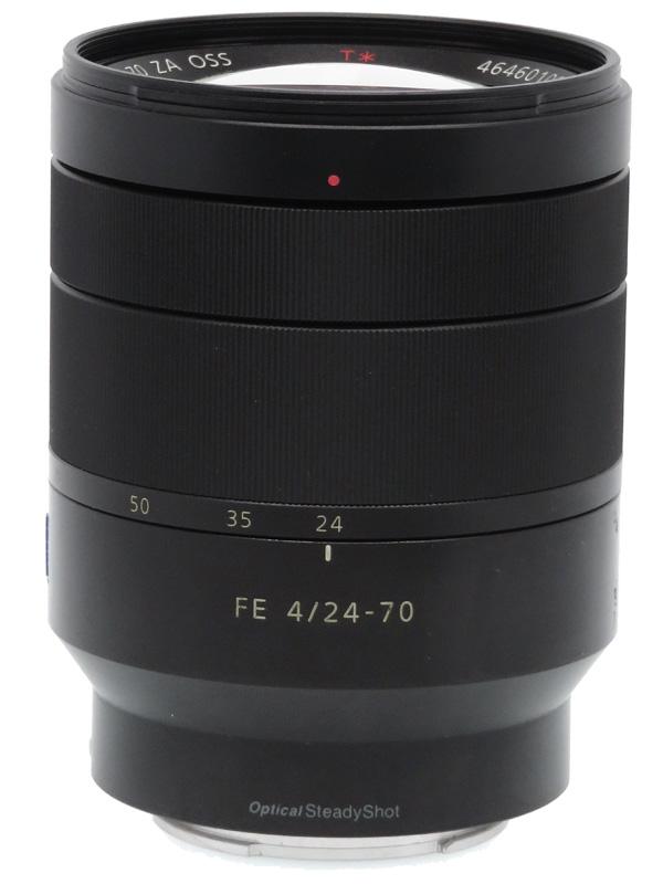 【SONY】ソニー『Vario-Tessar T* FE 24-70mm F4 ZA OSS』SEL2470Z Eマウント フルサイズ対応 デジタル一眼カメラ用レンズ 1週間保証【中古】b06e/h17AB