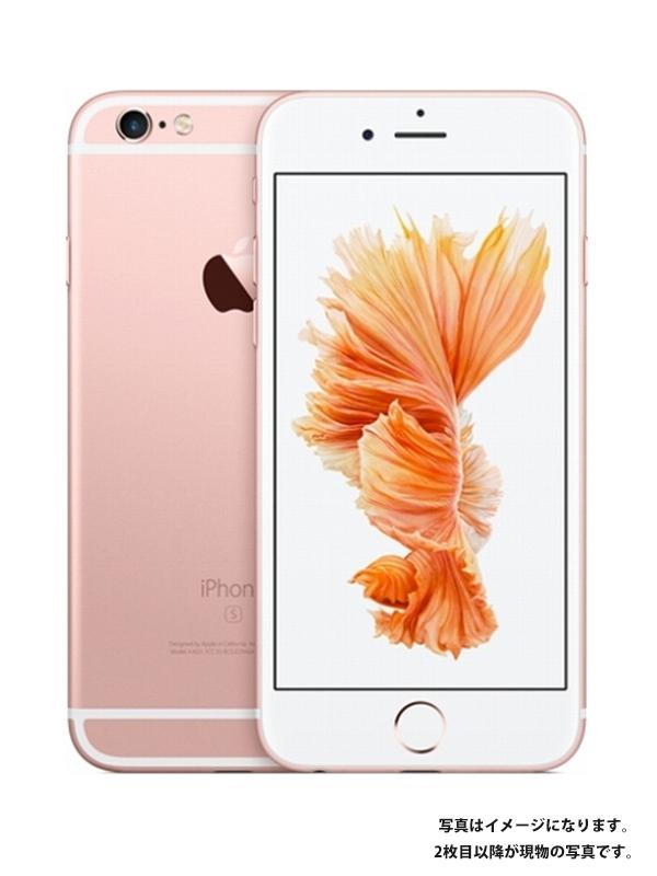 【Apple】【docomoのみ】【ローズゴールド】アップル『iPhone 6s 64GB docomo』MKQR2J/A スマートフォン 1週間保証【中古】b02e/h02AB