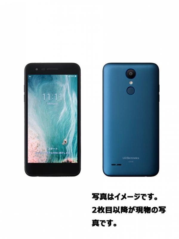 【LG】エルジーエレクトロニクス『LG it 32GB auのみ モロッカンブルー』LGV36 2018年11月発売 スマートフォン 1週間保証【中古】b03e/h08A