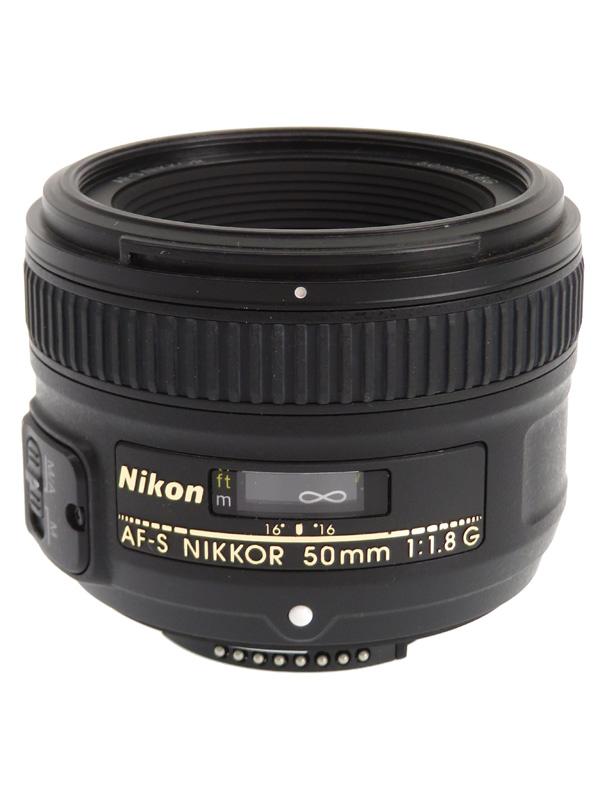 【Nikon】ニコン『AF-S NIKKOR 50mm f/1.8G』FXフォーマット 標準 一眼レフカメラ用レンズ 1週間保証【中古】b02e/h02AB