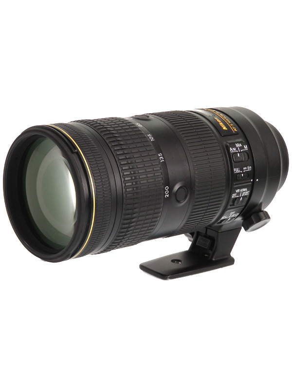 【Nikon】ニコン『AF-S NIKKOR 70-200mm f/2.8E FL ED VR』FXフォーマット デジタル一眼レフカメラ用レンズ 1週間保証【中古】b02e/h02B