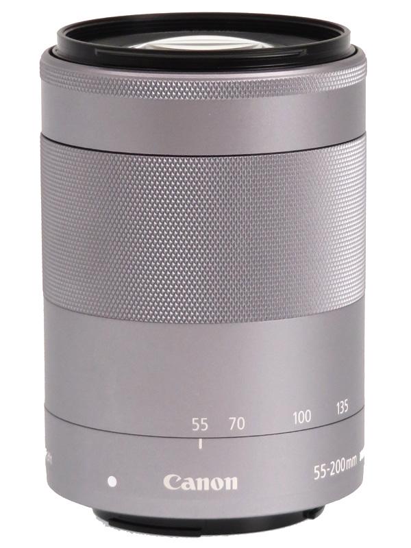 【Canon】キヤノン『EF-M55-200mm F4.5-6.3 IS STM』EF-M55-200ISSTMSL 88-320mm相当 ミラーレス一眼カメラ用レンズ 1週間保証【中古】b02e/h03AB
