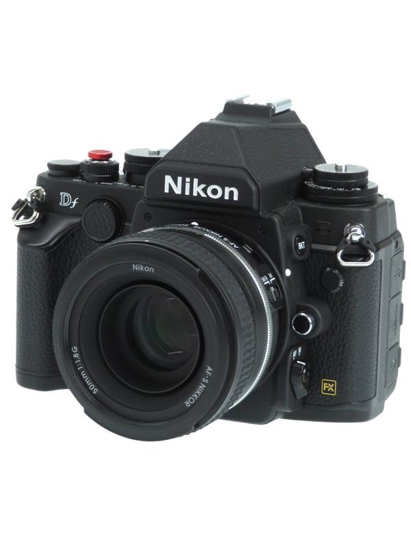 【Nikon】ニコン『Df 50mm f/1.8G Special Edition キット』ブラック 1625万画素 SDXC デジタル一眼レフカメラ 1週間保証【中古】b02e/h13AB