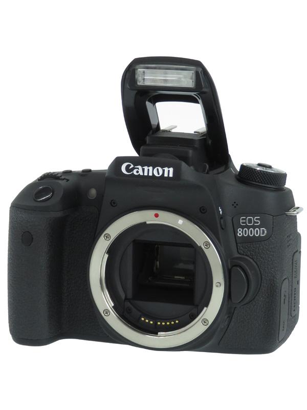 【Canon】キヤノン『EOS 8000D ボディ』2420万画素 EF-S フルHD動画 デジタル一眼レフカメラ 1週間保証【中古】b02e/h03AB