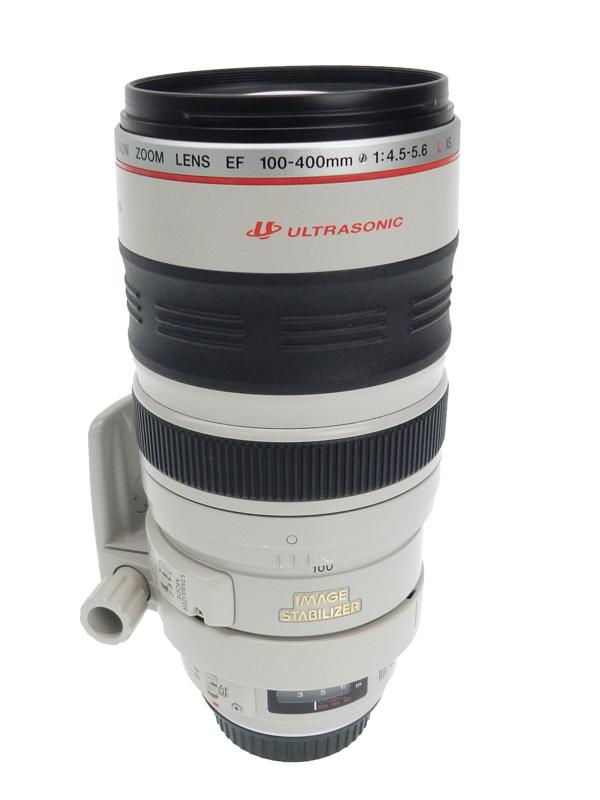【Canon】キヤノン『EF100-400mm F4.5-5.6L IS USM』EF100-400LIS 高画質望遠ズーム 手ブレ補正 一眼レフカメラ用レンズ 1週間保証【中古】b02e/h10AB