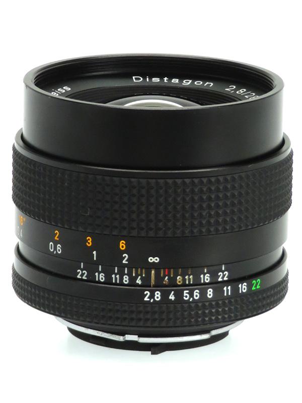 【CONTAX】コンタックス『Distagon T* 28mm F2.8 MMJ』Y/C カールツァイス 一眼レフカメラ用レンズ 1週間保証【中古】b03e/h22B