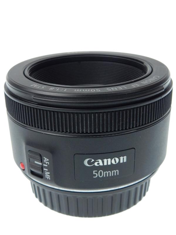 【Canon】キヤノン『EF50mm F1.8 STM』EF5018STM 標準 単焦点 ステッピングモーター 一眼レフカメラ用レンズ 1週間保証【中古】b02e/h03AB