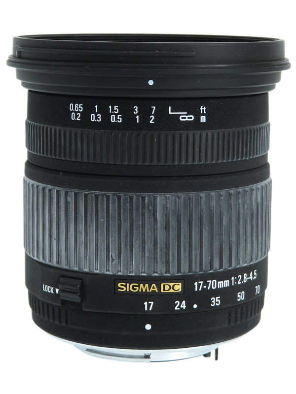 【SIGMA】シグマ『17-70mm F2.8-4.5 DC MACRO』ペンタックスKマウント APS-C 25.5-105mm相当 デジタル一眼レフカメラ用レンズ 1週間保証【中古】b02e/h03B